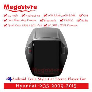 "9.7"" Android 10.1 Tesla Style Non-DVD Car Player GPS For Hyundai iX35 2009-2015"