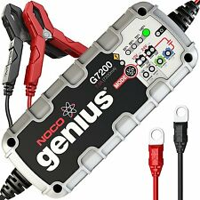 NOCO Genius G7200 - 12V/24V 7.2 UltraSafe Smart Battery Charger