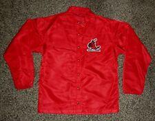 Vintage 1970s St. Louis Cardinals Game Worn Jacket by Rawlings, Free Priority!