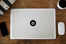 """Botón De Encendido Etiqueta del vinilo adhesivo Para Apple Macbook air/pro 12 """"de 13"""" 15 """""""