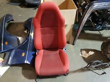 TOYOTA MR2 MK3 Roadster FRONT PASSENGER SIDE SEAT RED CLOTH