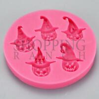 Spooky Halloween Themed Silicone Mould Cupcake Topper Decoration Mold
