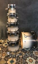Mapex Pro M Maple Drums 6 Piece Shell Pack & Mounting Hardware