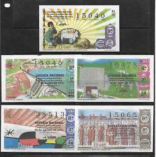 España Loteria Nacional Decimos año 1972-73 facsímil (EE-755)
