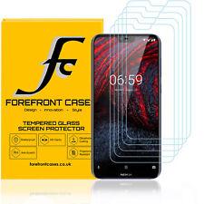 Nokia 6.1 PLUS Vidrio Templado Protector de pantalla cubierta de protección [5 Pack] 9H Hd Claro