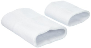 Zoni Pets, LLC Happy Hoodie - White 2 Pack, Contains One Large and One Small
