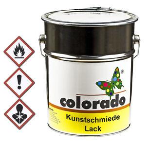 Kunstschmiedelack, Effektlack, Metallschutz Lack, Eisenglimmerlack - 5 Liter