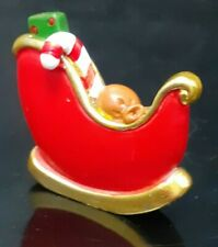 Christmas Sleigh with Presents - Christmas Cake Topper Decoration with Pic