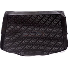 Ford Mondeo Hatchback 2007 - 2014 black tailored car boot mat liner L3035