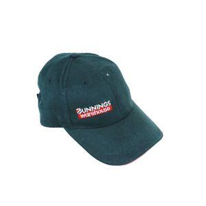 Genuine Bunnings Warehouse Mens Green Cap Trade