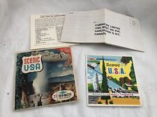 Vintage Sawyers Stereo Pictures 21 View-Master SCENIC USA Packet No. 996