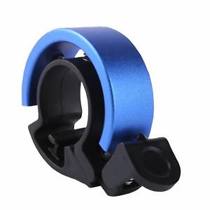 Blue Bike Bell Aluminium Ring Bicycle Lightweight  Handle Noise Adult Children