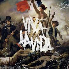 COLDPLAY ( NEW SEALED CD ) VIVA LA VIDA OR DEATH AND ALL HIS FRIENDS