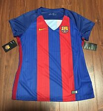 FC Barcelona Nike Football Soccer Jersey Women's XL New With Tags