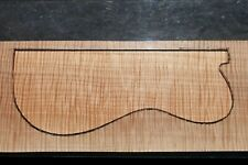"""AWESOME CURLY MAPLE 23"""" X 8 1/8"""" X 2 3/8"""" GUITAR, LUTHIER, CRAFT, SCALES"""