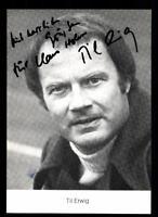 Til Erwig Autogrammkarte Original Signiert # BC 135748