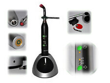 10W Dental Wireless LED Curing Light Lamp Metal Handle 2000mw Black