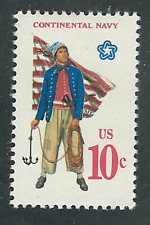 Scott # 1566...10 Cent ..Continental  Navy... 10 Stamps