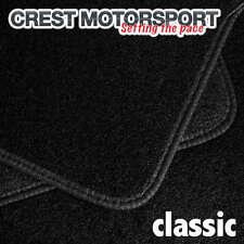 Vauxhall Vivaro 2001 su (1-piece ANTERIORE) CLASSIC SU MISURA NERO AUTO TAPPETINI