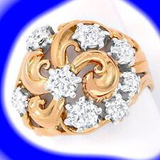 Markenlose Ringe Echtschmuck aus mehrfarbigem Gold