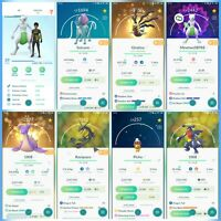 Pokemon Account Go Level 39 | 74 Shiny | 140 Legendary(Rare) | 38 Iv100 (Rare)