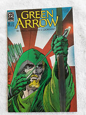 Green Arrow #10 (Nov 1988, DC) VF+