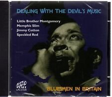 Dealing With The Devil's Music : Bluesmen In Britain (brand new CD)