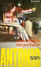 SAN ANTONIO // Descendez le à la prochaine // Fleuve Noir // Frédéric DARD