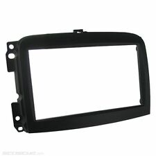Scosche FT4277B Double DIN Dash Kit for Select 2012-Up Fiat 500L Vehicles