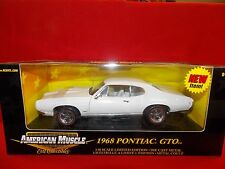 Ertl American Muscle 1:18 1968 Pontiac GTO White # 36673