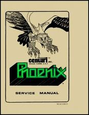 Phoenix Centuri Arcade Video Game FULL Service & Repair Operations Manual     WA