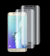 2 x Panzerfolie Samsung Galaxy S6 Edge+ Plus 3D Komplett Rand TPU Schutz Folie