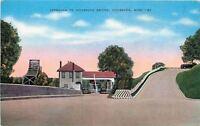 Vicksburg Mississippi~Approach To Vicksburg Bridge~To Arkansas & Louisiana~1930s