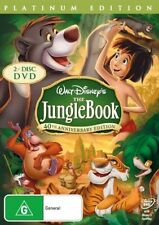 DISNEY The Jungle Book (DVD 2-Disc) 40TH ANNIVERSARY EDITION HEAPS OF EXTRA'S