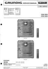 Grundig Original Service Manual für CDM 3000-5000
