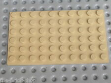 Plaque plate TAN 6 x 10 ref 3033 LEGO / set 10134 6454 3722 5919 5978 10123 7110