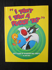 I Tawt I Taw A Puddy Tat Book Signed By Jerry Beck Tweety Looney Tunes Slyvester
