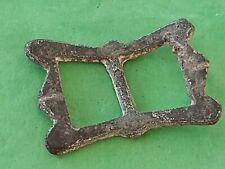 Nice Medieval bronze spur buckle. Please read description. L138k
