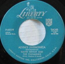 David Seville And The Chipmunks – Alvin's Harmonica, Vinyl, 45rpm, 1959, VryGd+