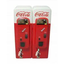 Coca Cola Vintage Vending Machine Salt and Pepper Pots Shakers SUN4701-04