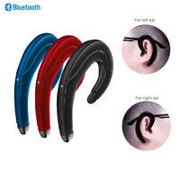Wireless Bluetooth 5.0 Headset Bone Conduction Earphone Stereo Sport Headphone