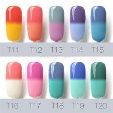 UV Soak Off Temperature Thermal Color-Changing UV Base Top Gel Nail Gel Polish