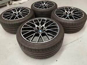 Genuine BMW M2 Competition 19x10 19x9 788M with Pilot Sport tyres