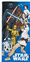 Disney Star Wars Multi Color Beach Towel by Jumping Beans 28'' x 58'' NWT