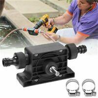 Portable Electric Drill Pump Self Priming Transfer Oil Fluid Water Pumps Shank