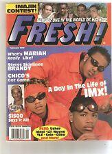 FRESH! Magazine Feb00 Mariah Brandy IMx Chico Sisqo Usher F225