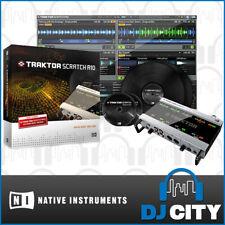 Native Instruments Scratch A10 Traktor DVS Digital Vinyl DJ System