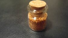 Real German Copper Glitter Glass  - Sample
