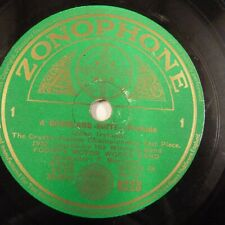 78 rpm FODEN's MOTOR WORKS BAND a dwonland suite prelude elegy ZONOPHONE 6228
