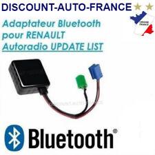ADAPTATEUR BLUETOOTH AUXILIAIRE RENAULT AUTORADIO UPDATE LIST clio 2 3 modus